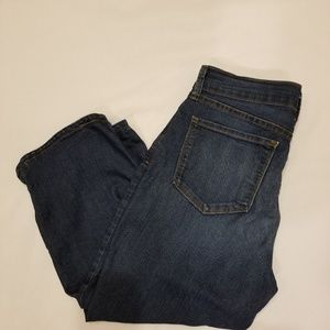 EUC- NYDJ High Waist Cropped Jeans